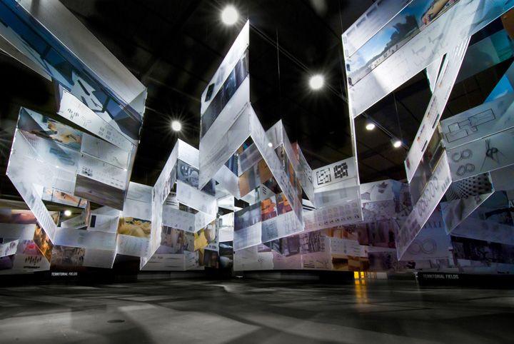Way Beyond Art3 exhibit by Douglas Burnham & Ila Berman - San Francisco