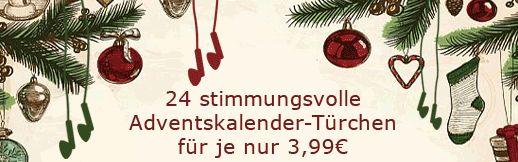 Hörbuch Download Adventskalender (Ecobookstore, der grüne Online-Buchhandel > Weihnachten)