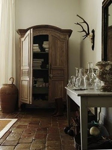 Country French Armoir  Google Image Result for http://grethascholtz.files.wordpress.com/2012/06/antlerarmoire-antler-rack-french-gustavian-decor-ideas.jpg%3Fw%3D529