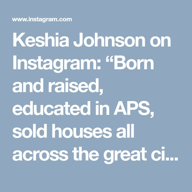 """Keshia Johnson on Instagram: """"Born and raised, educated in APS, sold houses all across the great city of Atlanta. My late husband gave 19 proud years to Atlanta Police…"""" • Instagram"""