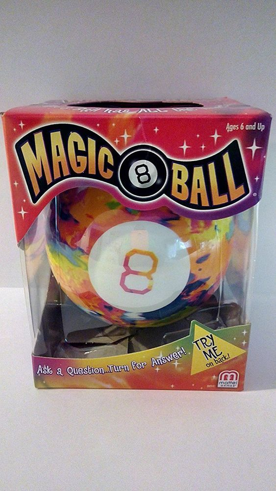 Magic 8 Ball Tie Dye Edition Classic Collector's Item Toy Children Vintage Retro #Magic8Ball