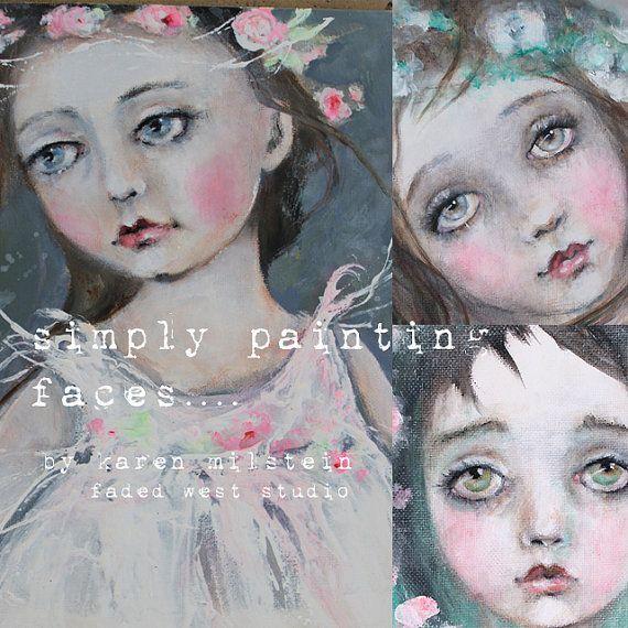 Online-Porträt-Malerei-Klasse einfach Malerei Gesichter...