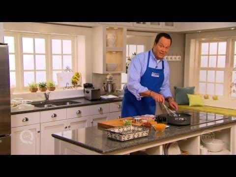 Love Southern food? Here's a #recipe from @David Venable QVC for Cheesy Grits with Bacon.