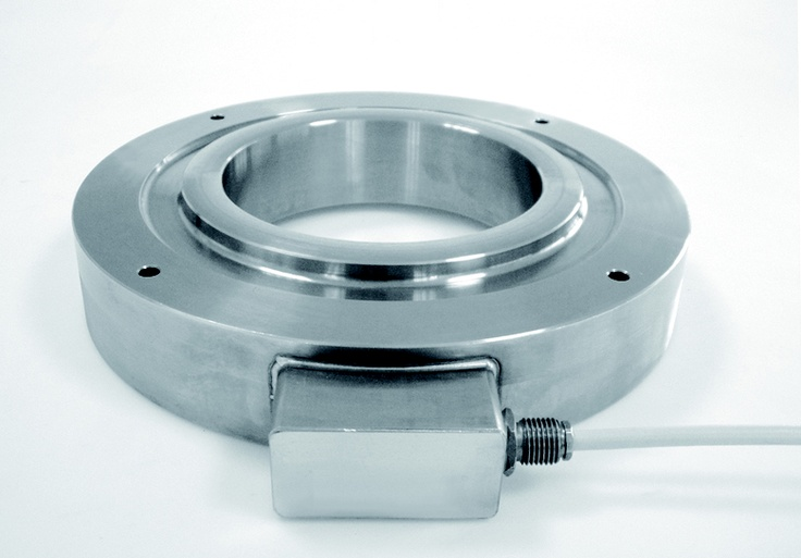 Model CA anchor load cells stainless steel IP68 from Laumas Elettronica, Italy