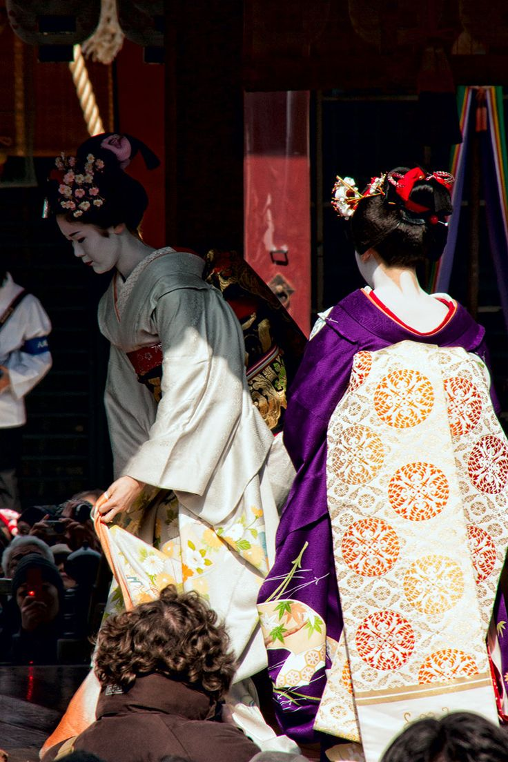 GirlS  DELTA かすがの ゆい 3 Setsubun is one of the most fun celebrations on the Japanese calendar. Two  maiko take