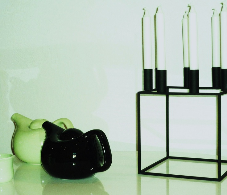 ... candle holder by Mogens Lassen | Scandinavian interior decora: pinterest.com/pin/293789575661626373