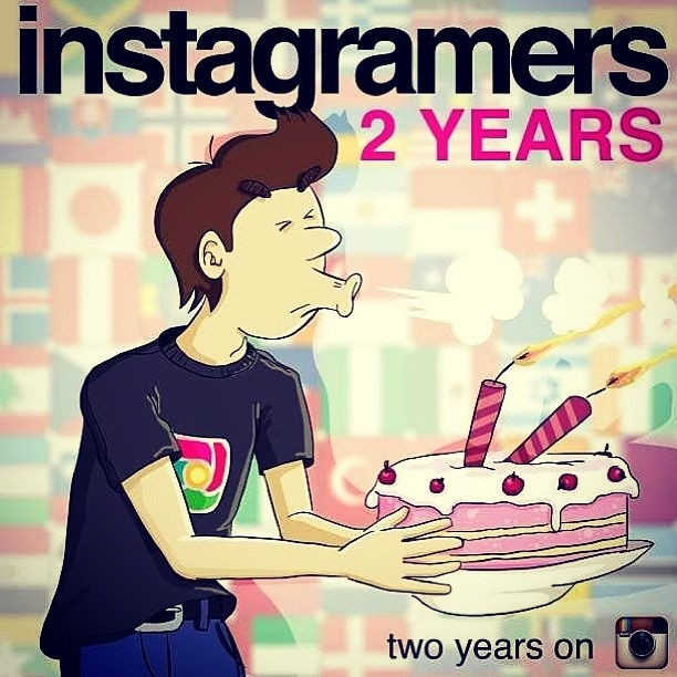 Igers Gdansk • 2 years of #Instagramers @Philippe Gonzalez. Happy Birthday from @igersgdansk