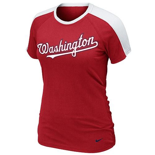 Louis Cardinals Ladies Premium Centerfield T-Shirt - Red
