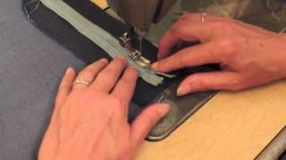 how to install a fly zipper - YouTube