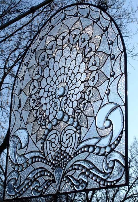 Aphrodite's Valentine Beveled Glass Window by C.H. Valhalla