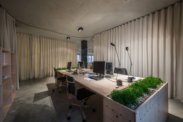 (un)curtain office by dekleva gregoric architects - News - Frameweb