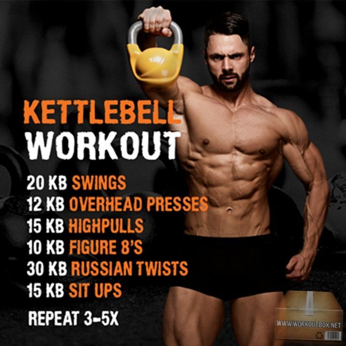 Kettlebell Workout - Hardcore Bell Training for A Strong Body !