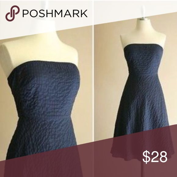 J. Crew Strapless Embossed Beach Dress, Black, OP. J. Crew Strapless Embossed Beach Dress in Black. Label is worn but it is petite and label seems to read 0P, which is what I wear in petites. Well-worn and cared for (minor fading) dry cleaned only.  *orig. $98 J. Crew Dresses