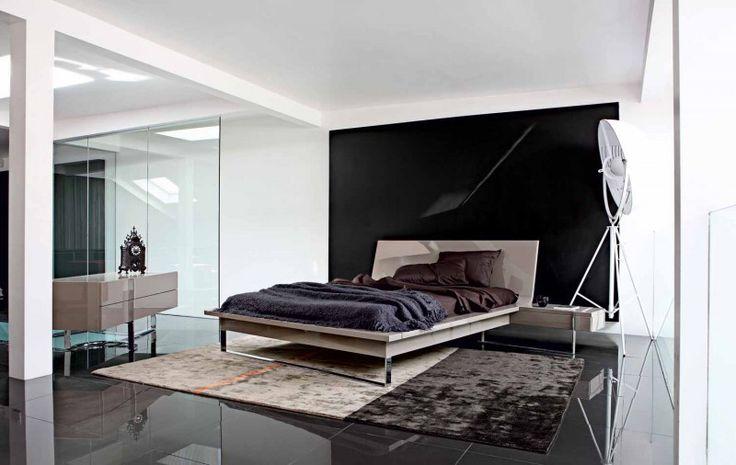 Schwarze und weiße kleine Schlafzimmer Innenarchitektur für kleine Zimmer tolles Design für Herrenhäuser