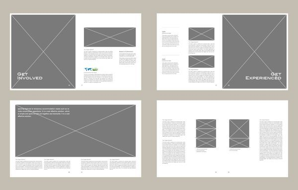 graphic design portfolio layout inspiration - Google Search