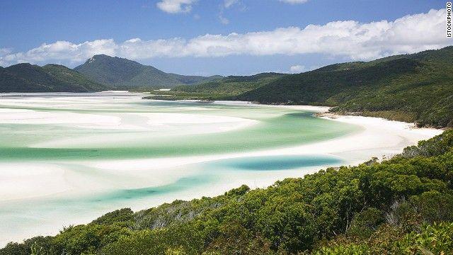 11. Whitehaven Beach, Queensland, Australia