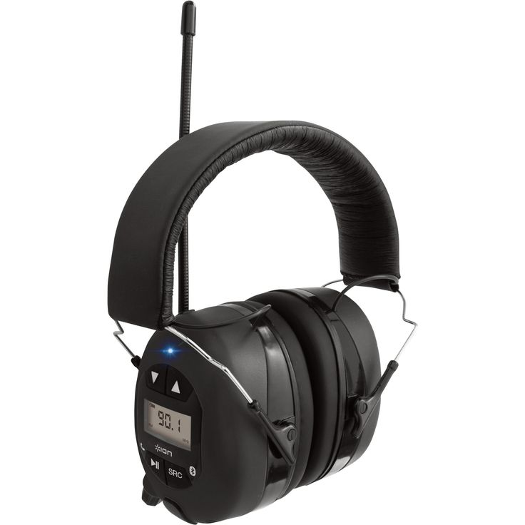 Bluetooth Hearing Protection Headphones — Don't Blast Your Ear Drums as You Work   Hearing Protection  Northern Tool + Equipment