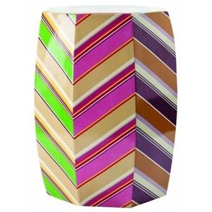 Necktie Stool.Design Interiors, Architecture Interiors, Beautiful Interiors, Interiors Design, Decor Inspiration, Bedrooms Interiors, Necktie Stools, Interiors Decor, Chevron Stripes