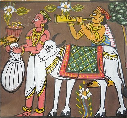 vrksa arts & crafts: patachitra - indian traditional art