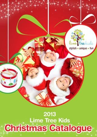 #limetreekids Lime Tree Kids Christmas Catalogue 2013