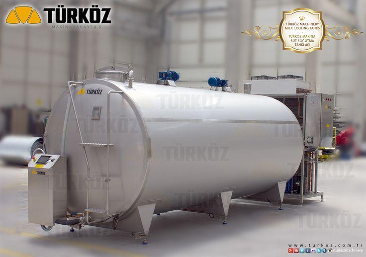 Türköz Machinery Milk Cooling Tank (10 Ton) - Türköz Makina Süt Soğutma Tankı (10 Ton) #milk #cooling #tank #tanks #dairy #machine #producer