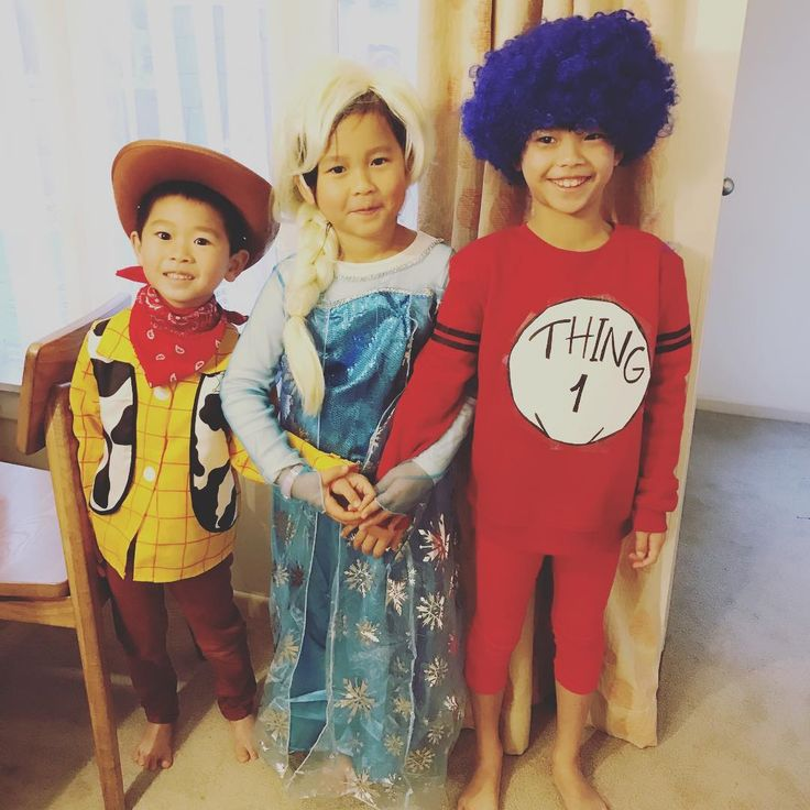 Book character Day Funny wigs #Woody#Elsa#Thing1 My little sweeties �� http://misstagram.com/ipost/1553164896107244306/?code=BWN8z52FCsS