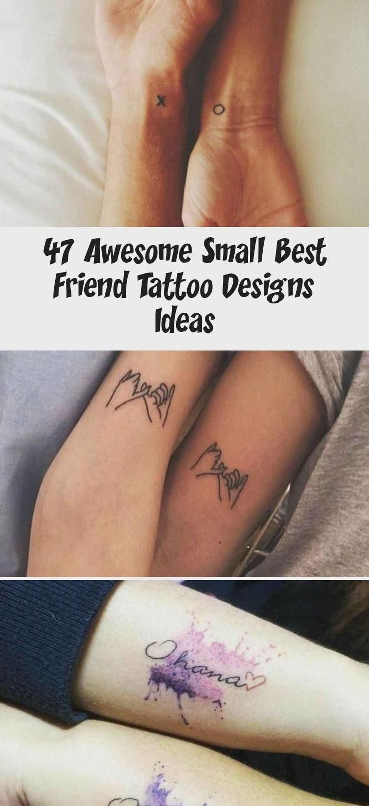 47 awesome small best friend tattoo designs ideas
