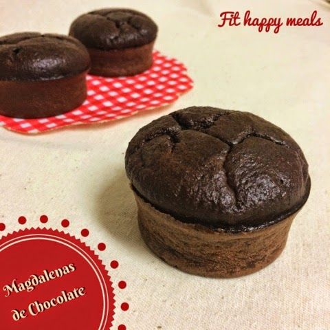 Fit Happy Meals: Magdalenas de chocolate