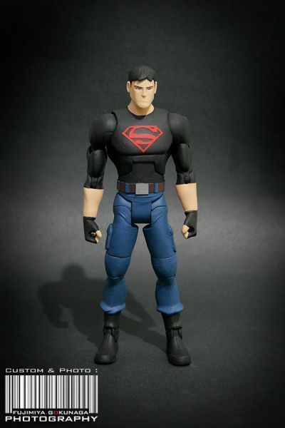 Young Justice Invasion Superboy (Young Justice) Custom Action Figure