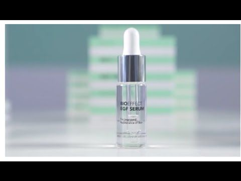 Dr. Björn explains how EGF works to firm and tighten the skin -  this serum is based on 10 years biotechnological research #antiaging #wrinkles #egf #serum