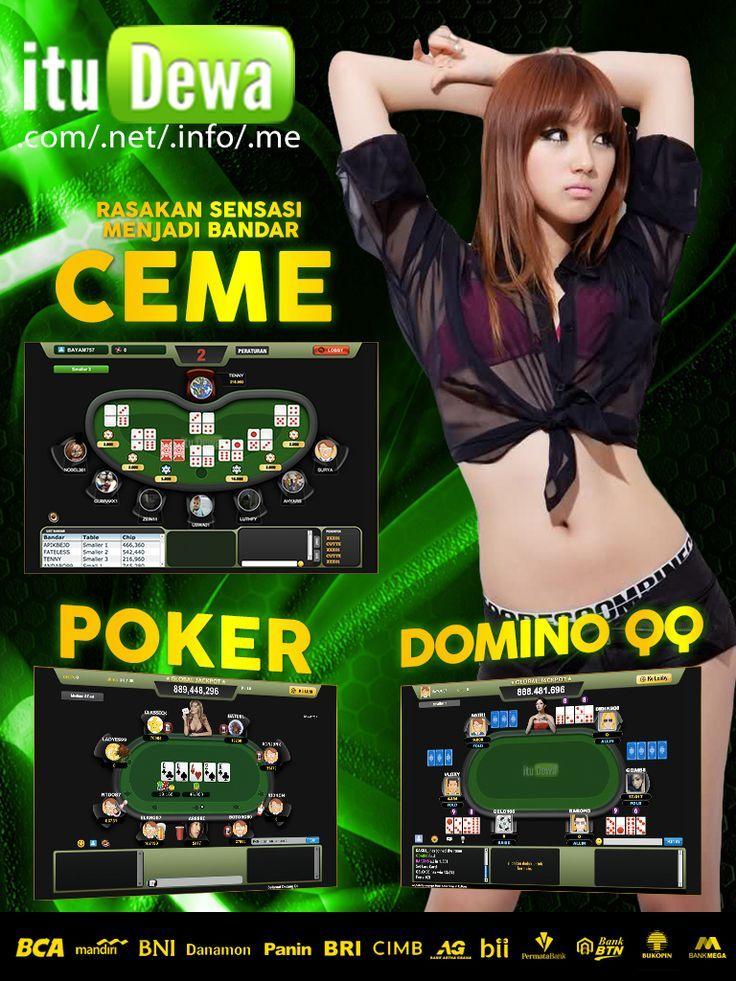 Pin di Poker Domino QQ | Judi Ceme | Agen Domino QQ | Agen ...