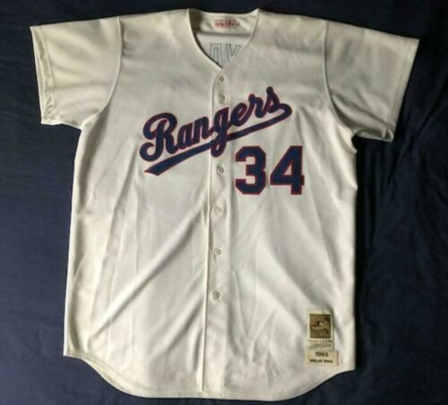 info for 80577 9a390 Details about Men's Mitchell & Ness MLB Texas Rangers 1993 ...