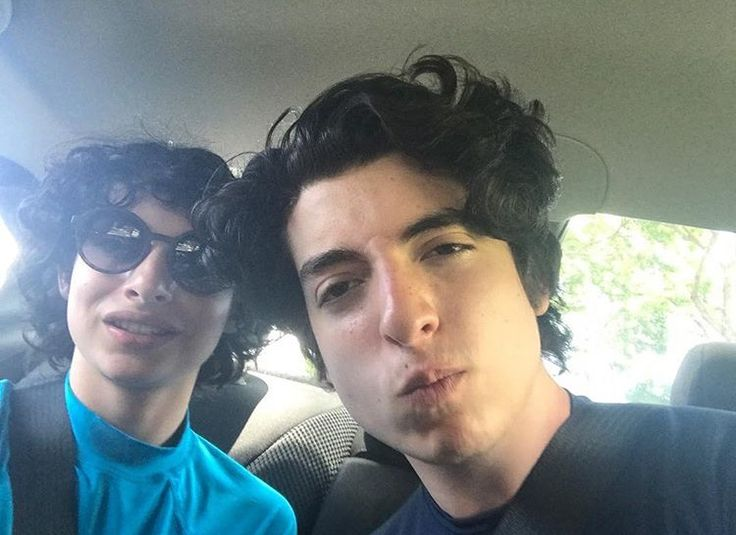 finn and brother nick stranger things in 2019 nick