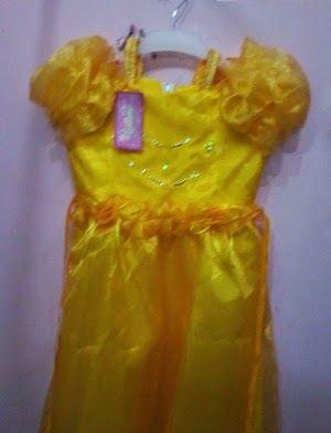 Pakaian Anak: Baju cinderella-1