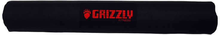 Grizzly Fitness Barbell Pad. Comfort foam construction. Fits any standard or Olympic bar. Fully adjustable Velcro closure.