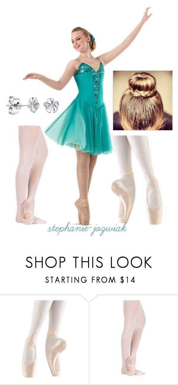 """""""""""If I Die Young"""" by The Band Perry-Jen's Costume for Advanced Pas de Deux Routine for Dance Studio Recital"""" by stephanie-jozwiak ❤ liked on Polyvore featuring moda y Bloch"""