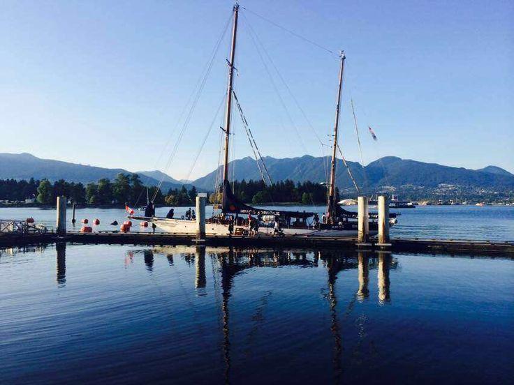 #Vancouver harbor, #Canada