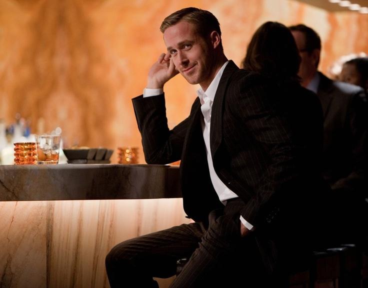 Ryan Gosling Suit...  Charming.