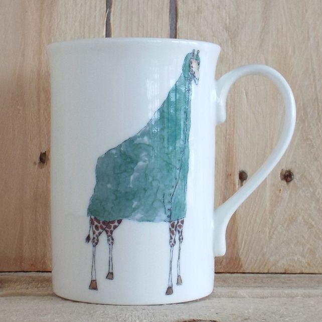 Mug - Giraffe rain coat £15.00