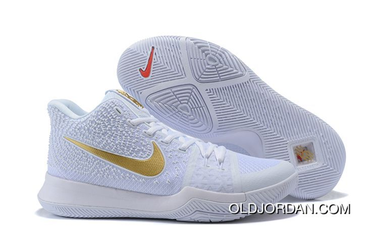 pretty nice c7ed4 33734 Nike Kyrie 3 White/Metallic Gold Best in 2019 | jordan shoes ...
