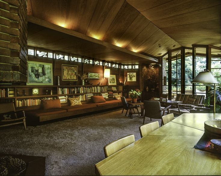 287 best usonian images on pinterest | frank lloyd wright, usonian