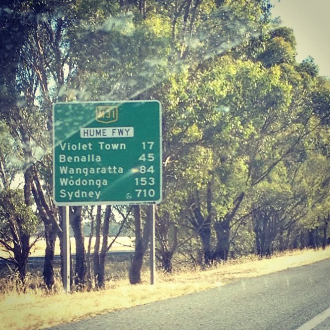 Road trip from Melbourne to Sydney