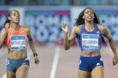 400 m donne - Il successo va all'americana Francena McCorory, oro mondiale indoor, in 50.36 davanti alla giamaicana McPherson (50.53) e all'altra americana Hastings (50.67)