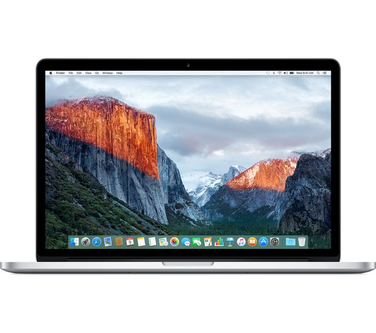 "Apple MacBook Pro 15"" with Retina Display: Most solid and elegant laptop that there's ever been, extremely powerful CPU, extremely fast SSD, plenty of RAM, 2880x1800 high-res IPS display"