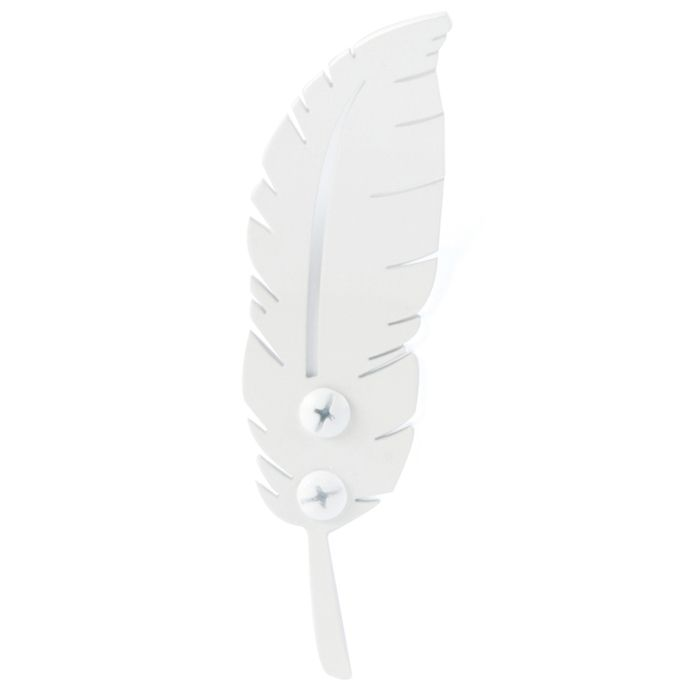 Feather hook white