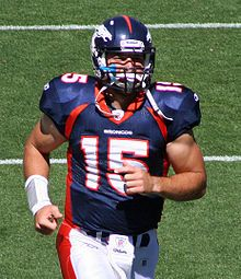 Tim Tebow - positive impact on everyone around him, couldn't get classier, media hates him (makes me love him more)