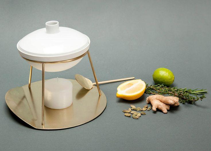 May Kukula's Aroma set produces homemade room fragrances