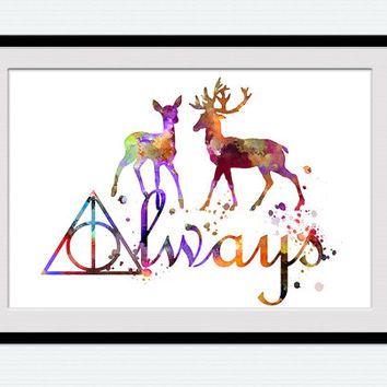 Best Harry Potter Wall Art Products on Wanelo