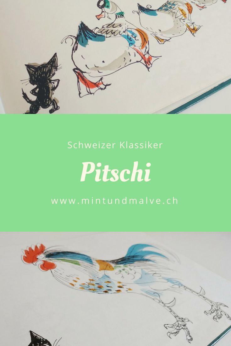 Bilderbuch Tannenbaum.Pitschi Von Hans Fischer Ist Ein Wunderschön Illustriertes