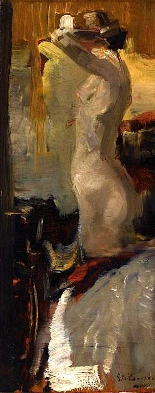 George Hendrik Breitner-Standing Nude